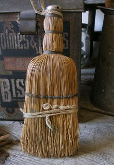 I'm addicted to primitive hand brooms...all sizes, shapes and looks...no such thing as too many! :  )