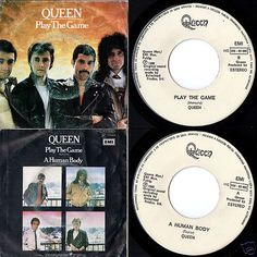 "QUEEN Play The Game 1980 PORTUGAL RARE 7"" 45 VINYL SINGLE 11C00663890F 