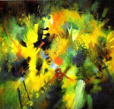 Carlos Jacanamijoy la esencia de la poesía Paintings, Ideas Para, Modern Abstract Art, Painting Abstract, Canvases, Latino Art, Paint, Painting Art, Painting