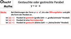 94 best quadratische Funktion images on Pinterest | Teaching ideas ...