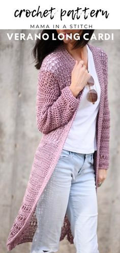 Bohemian Tops, Boho, Crochet Cardigan Pattern, Knit Crochet, Sweater Patterns, Free Crochet, Bolero Crochet, Autumn Crochet, Kimono Pattern