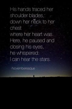 Our special date under the stars... :))
