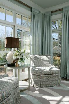 light filled living room....