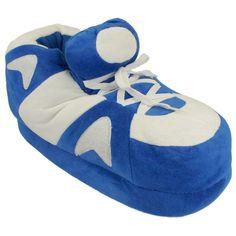 Blue Go Happy Feet Slippers