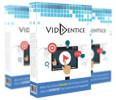 VidEntice review - What is VidEntice?  VidEntice is probably the only software currently in the marketplace that allows video marketers to add calls to action elements directly onto the video. It grew out of a need to have high converting video call to action elements right on the video itself, in order to get viewers to take action right there and then.