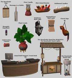 Island Paradise Conversions • The Beachside Stand Bar requires NL&OFB • Island Bell Hoppers' Front Desk requires BV Download