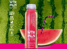 Refreshing Watermelon Waters - WTRMLN WTR's Healthy Beverage is Cold Pressed and All Natural (GALLERY)