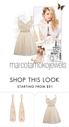 """""""Marcotamokojewels 1"""" by barbara-996 ❤ liked on Polyvore featuring Silvana, Marco Ta Moko and Sophia Webster"""