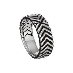 Fink's Jewelers - John Hardy Men's Bedeg Triangle Line Pattern Band Ring, $295.00 (http://finksjewelers.com/john-hardy-mens-bedeg-triangle-line-pattern-band-ring/)