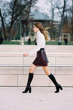 Vanessa Jackman: Paris Fashion Week AW 2015....Chiara