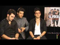 Il Volo con nuevo disco, Más que Amor /Entrevista a Batanga, 4 min, April 2013, interview and song.