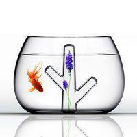Crystal Coral Fish Bowl - Fancy.com