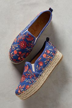 Patterned Espadrilles