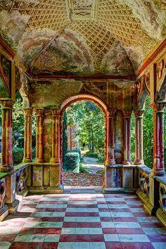 Castello del Roccolo, Italy, Busca, province of Cuneo, Piemonte