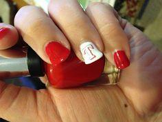 Texas Rangers baseball nails!