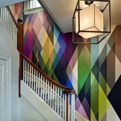 Really go crazy with wallpaper Incredible Geometric Designs