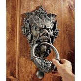 Found it at Wayfair - Vecchio Greenman Authentic Iron Door Knocker