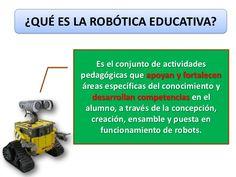 ¿CÓMO APLICAR LA ROBÓTICA EN EL AULA?              CONTROL Y AUTOMATIZACIÓN                MECANISMOS MOTORIZADOS         ...