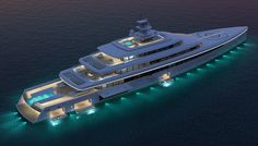 Acquaintance Superyacht Concept By Vitruvius Yachts
