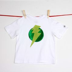 Lightening Leader Tee Green, $17, now featured on Fab.