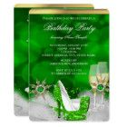 Shop Glitter Lime Green High Heel Shoes Gold Champagne Invitation created by Zizzago. Champagne Birthday, High Heels, Shoes Heels, Gold Champagne, Birthday Party Invitations, Lime, Glitter, Green, Limes