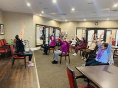 Our residents at Four Elms Retirement Residence in Thornhill kept active while docking in Mexico with a Spanish Caribbean inspired dance class. Inspire Dance, Wellness Activities, Emergency Response, Assisted Living, Senior Living, Dance Class, Retirement, Caribbean, Spanish