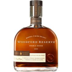 Woodford Reserve has announced a package redesign for its family of brands. The most significant changes are in the Woodford Reserve Double Oaked bottle. Best Bourbon Whiskey, Good Whiskey, Top Shelf Bourbon, Bourbon Cocktails, Rum, Woodford Reserve Bourbon, Vodka, Small Batch Bourbon, Kentucky