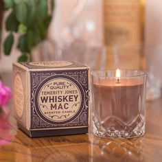 Whisky Mac Scented Candle Hot ginger tea scented burn time approx 34 hours. (Barcode EAN=5024418104346) http://www.MightGet.com/january-2017-13/unbranded-whisky-mac-scented-candle.asp