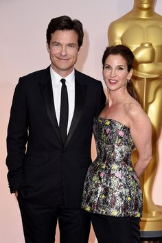 *-*87th Annual Academy Awards - Arrivals -    87th Annual Academy Awards - Arrivals  HOLLYWOOD, CA - FEBRUARY 22: Actor Jason Bateman (L) and Amanda Anka attend the 87th Annual Academy Awards at Hollywood & Highland Center on February 22, 2015 in Hollywood, California. (Photo by Steve Granitz/WireImage)