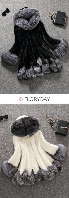 Shop Floryday for affordable Coats. Floryday offers latest ladies' Coats collections to fit every occasion. Look Fashion, Winter Fashion, Fashion Outfits, Womens Fashion, Fashion Clothes, Girl Fashion, Beautiful Outfits, Cool Outfits, Kids Outfits