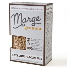 12-ounce Granola Boxes | All Four Flavors | Baked Without Refined Sugars