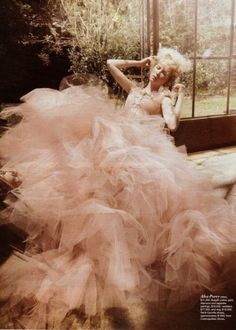 Frothy frills - so fabulous