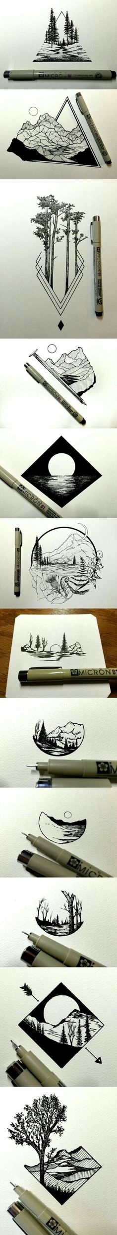 daily drawings by derek myers fubiz media a grouped images picture pin them all