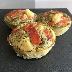 Muffins saumon fumé/poireaux | Recettes de cuisine allégées