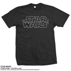 Star Wars Men's Tee: Logo Ref:STWATS01MB