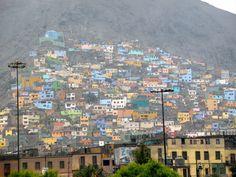 Lima, Peru, cono sur