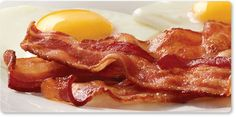 Bacon & Eggs one of my favourite breakfast foods