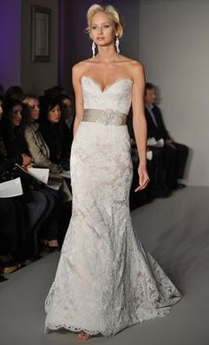 Jim Hjelm 8210: buy this dress for a fraction of the salon price on PreOwnedWeddingDresses.com