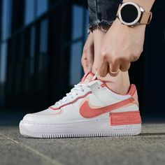 Air Force 1, Nike Air Force, Hype Shoes, Pink Quartz, Pink Accents, Light In The Dark, Sneakers Nike, Coral, Pairs