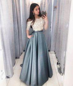 lo último aa316 6fb2b Las 2409 mejores imágenes de vestidos de gala en 2019 ...