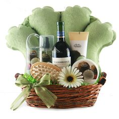Spa & Pamper Gift Baskets: Tranquility Spa Basket @ Design It ...