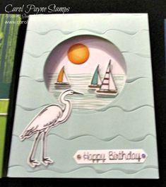 Stampin' Up! Happpy Birthday, Happy Birthday Cards, Cards For Friends, Friend Cards, Stampin Up Karten, Lily Pad, Stampin Up Catalog, Stamping Up Cards, Bird Cards