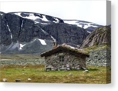 Freedom in mountains Canvas Print by Ren Kuljovska.  All canvas prints are professionally printed, assembled, and shipped within 3 - 4 business days and delivered ready-to-hang on your wall. Choose from multiple print sizes, border colors, and canvas materials. #canvasprint #mountainhut #norwegianbeauty #norway #mountainfreedom Canvas Art, Canvas Prints, Decor Ideas, Gift Ideas, Floral Pillows, Pin Pin, Photography Awards, Wall Decor, Artists