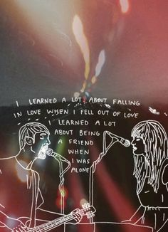 deflectinq: tigers jaw // 17 days until I see my favorite band again! Pretty Words, Beautiful Words, Music Lyrics, My Music, Falling Out Of Love, My Love, Pop Punk Bands, The Wombats, Paramore