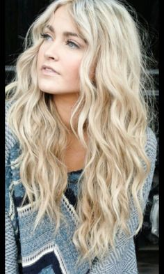 My favourite hair look ever: beachy waves