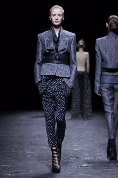 Japanese influenced blazer.  Haider Ackermann Spring Summer Ready To Wear 2013 Paris