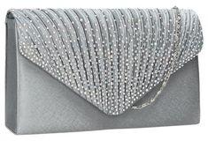 655380f426b SWANKYSWANS Abby Diamante Clutch Bag Silver Cute Cheap Clutch Bag For  Weddings School and Work #cheapclutchbags #clutchescheap