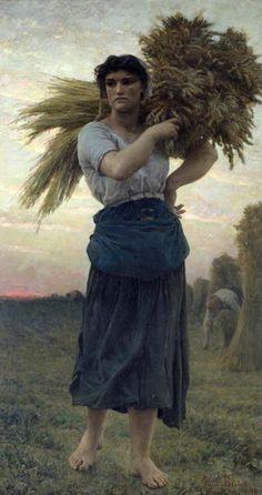 The Gleaner- Jules Breton