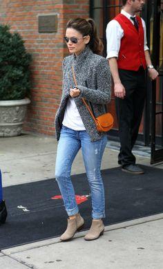 rachel bilson paige beachwood jeans 21 Rachel Bilson in Paige Skyline Skinny Jeans in Beachwood