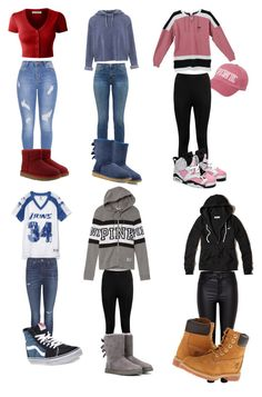 """What's my style for today ?"" by emojiluver4567 on Polyvore featuring LE3NO, UGG, Miss Selfridge, Current/Elliott, UGG Australia, Victoria's Secret, Boohoo, Retrò, rag & bone and Vans"